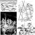 "4 of a series of 80 interior illustrations for the book ""What Was the Lewis & Clark Expedition?"" for Penguin Young Readers. Click on the image to see a larger version."