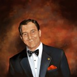 Unused portrait of Danny Thomas for St. Jude Hospital, 2011