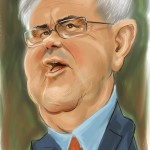 unpublished portrait of Newt Gingrich, 2011